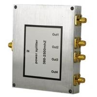 China resistive splitter 800-2500MHz 4 way Power Divider SMA female connector on sale