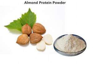 China Natural Organic Plant Protein Powder Off White Almond Protein Almond Extract Powder on sale