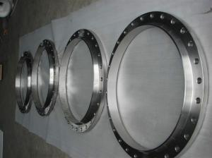 China titanium flange ANSI B16.5(AMSE B16.5) pipe flange high pressure of GR2 with high quality on sale
