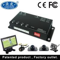 Mobile Digital Record Vehicle Security Camera System With 4 Cameras LCD Monitor