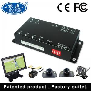 China Remote Control 4 Channel Car DVR Recorder For Bus Truck High Trigger on sale