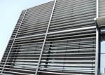 China Durable - Washable Aluminium Sun Shades Decorative Slice Screen Ceiling Panels wholesale