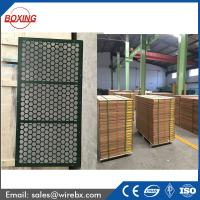 Brandt SWACO high quality steel frame oil shale shaker screen / frame vibrating sieving wire mesh with API Q1 certificat