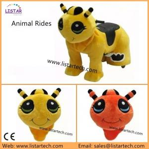 China Attractive Motorcycle Sidecar for sale, Child Toy on Ride, Plush Electrical Animal Toy Car on sale