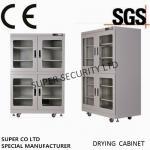 armário seco eletrônico inoxidável da baixa umidade, 85V - exposição de diodo emissor de luz 265V