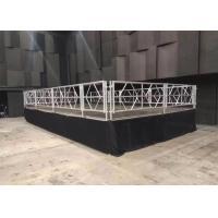 Waterproof Mobile Stage Rental , Anti Skip Concert Folding Stage Platform