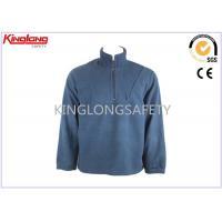 2 Pocket Half Zipper Polar Fleece Jacket Apparel Size S M L For Ladies