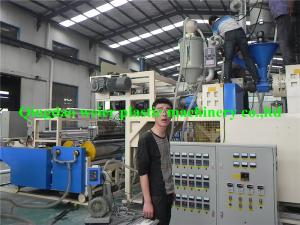 China Automatic PE Cast Stretch Film Extrusion Line Tri-Layer / Five-Layer on sale