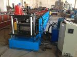 La machine 380V, 50HZ, 3 de forme de petit pain de Purlin du contrôle automatique M d'écran tactile de PLC mettent en phase, usinent le poids environ 12 tonnes