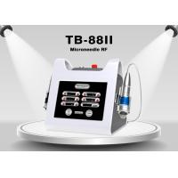 Portable Frequency Fractional RF Microneedle Machine For Wrinkle Removal , Skin Tightening