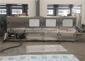 China 19 Liter Water Jar Filling Machine , Complete 5 Gallon Water Bottling Line on sale