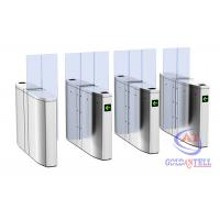 Luxury Speedlane barrier flap door optical rapid lane turnstile with visible LED high sliding glass