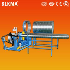 China stainless steel spiral air duct forming machine price on sale