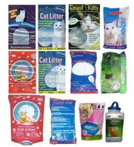China Silica gel cat litter on sale