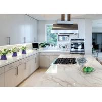Natural Color Pattern Quartz Kitchen Countertops Non Slip Montary