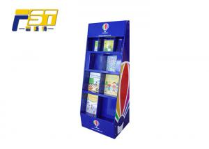 China UV Coating Cardboard POP Displays , Sturdy Structure Corrugated POP Displays on sale