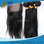 Extensión malasia gruesa suave del pelo de la Virgen, recto sedoso del pelo malasio sin procesar de la Virgen