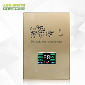 China Factory Direct Houshold Latest LED Touch Screen 400mg O3 Ozone Generator for Vegetable Sterilizer on sale