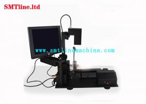 China Black Color Fuji Nxt SMT Feeder Calibration Accuracy Machine With Computer on sale