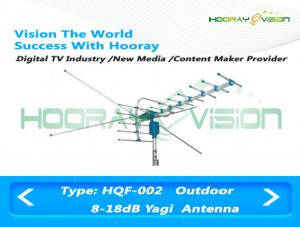 China AC 110 / 240V Outdoor Analog Digital TV Antenna 1.5 Wave Radio Salt Fog Corrosion Prevent on sale