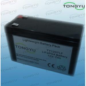 China High Temperature Resistant LiFePO4 Battery Pack 12V 7Ah For Portable Light Towers on sale