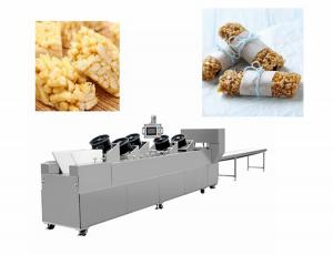 China Snack Bar Candy Making Machine Heat Preservation Batch Roller And Rope Sizer on sale