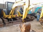 Year 2009 Used Mini Crawler Excavator Komatsu PC35 with High Precision Hydraulics and  Original Paint
