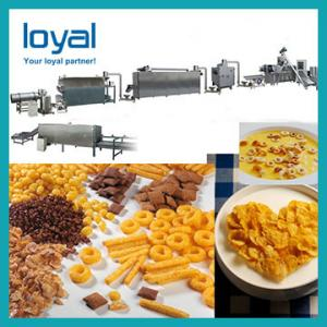 China Cost Effective Dry Breakfast Making Machine Toasted Corn Flakes Machine Extrusion Production Line on sale