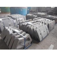 China Sand Cast Steel Mill Lining System With HRC50 Hardness And AK50J DF069 on sale