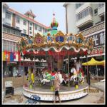 China Merry Go Round Amusement Park Rides Equipment antique 20 seats carousel for sale wholesale