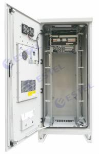 China Weatherproof 40U Air Conditioner Type Outdoor Telecom Cabinet / Integrated Outdoor Telecom Enclosure on sale