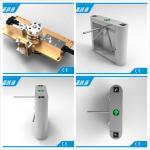 Stainless Steel Tripod Electronic Turnstile Gates for Supermarket