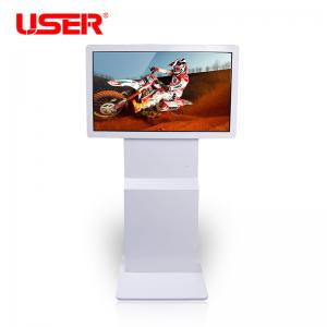 China 82 Inch Interactive LCD Touchscreen Monitor Touch Screen Information Kiosk on sale