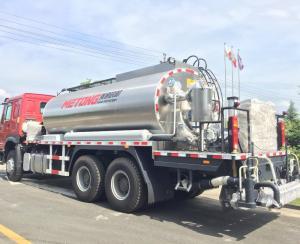 China 12000L Intelligent Asphalt Distributor Bitumen Spray Truck Road Machinery With 6m Spraying Width on sale