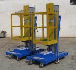 Plataformas de trabalho móveis de alumínio de Insulative, indústria da plataforma de trabalho aéreo de 6m