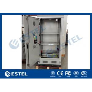 China Heat Insulation PEF Battery Storage Cabinet Outdoor Rack Enclosure 3 Shelves Cooling on sale