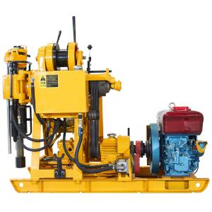 China Mechanical Spindle Trailer Type Core Drilling Equipment High Rotating Exploration on sale