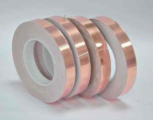 China 3/M 1183 EMI Tin-Plated Copper Foil Shielding Tape For Electrical Equipment Manufacturing on sale