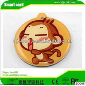 China ISO 14443A mini active rfid waterproof laundry tag/sticker on sale