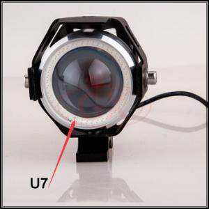 China Motorcycle universal headlight U7 headlamp U7 head light angle eye U7 headlight on sale
