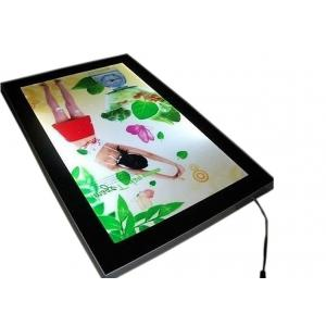China 15mm Thickness Poster Light Box Displays With Magnetic Open Front Panel on sale