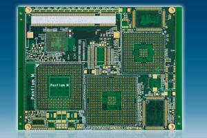 High Frequency Isola FR408 PC Board Layout With ENIG Finish And BGA