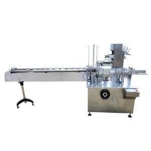 China Tooth Paste Soap Horizontal Automatic Cartoning Machine Custom Of Stainless Steel on sale
