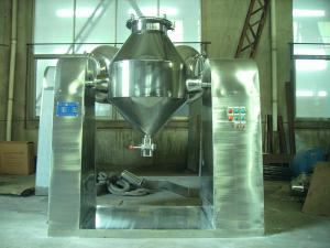 China Double Cone Dry Powder Blending Equipment 10 - 30 Minutes Mixing Time on sale