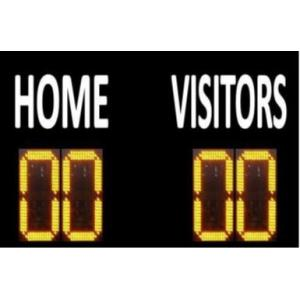 China led electronic soccer scoreboard on sale