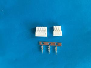 China 1.5 mm Pitch Female Electric Wire Connector , 2-16 Poles , White Color , Nylon 66 UL94V-0 on sale
