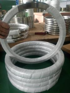 China Stainless steel Metal Ring (R seriers,RX series,BX series)and Spiral wound gasket 316 L,316,304L,304,347,10#,D,F5,F11,9 on sale