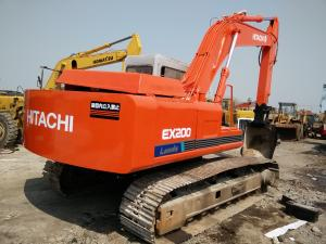 China HITACHI EX200-1 USED EXCAVATOR FOR SALE IN CHINA (ORIGINAL JAPAN ) on sale