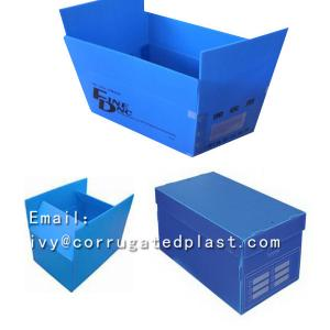 China Antistatic plastic ESD corrugated box for electronics board on sale