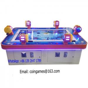 China 6 Players Amusement Arcade Coin Operated Hunter Shooting Fishing Gambling Casino Game Machine on sale